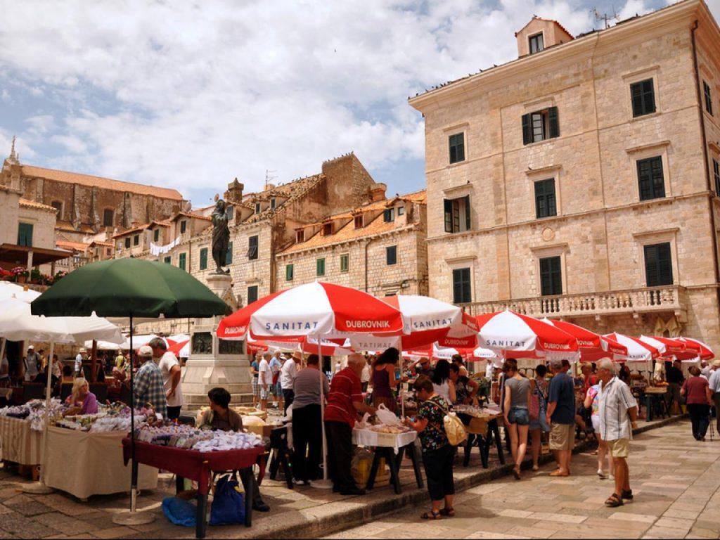 avrupa rüyası hırvatistan dubrovnik gruz market