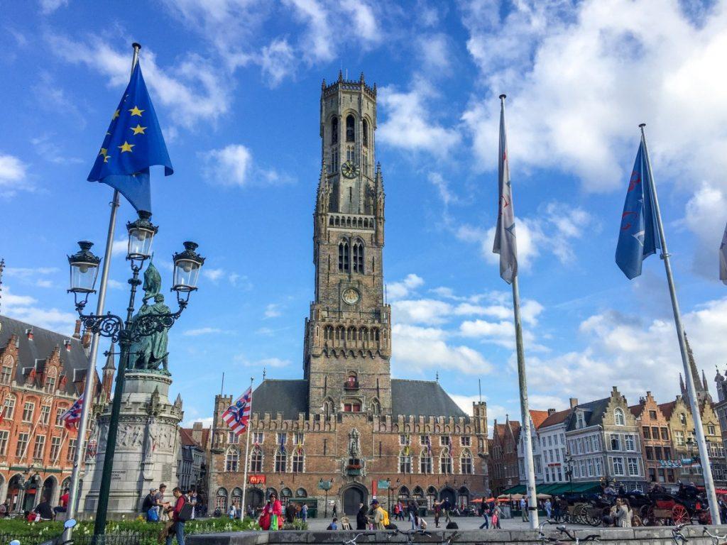 avrupa rüyası brugge Bruges Belfry