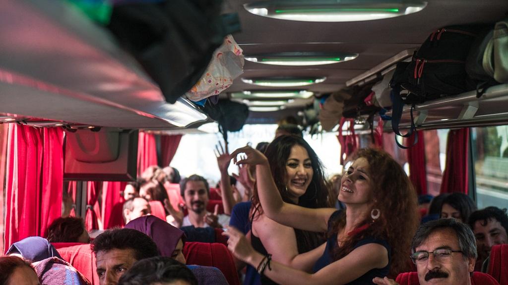 avrupa rüyası otobüsü eğlence