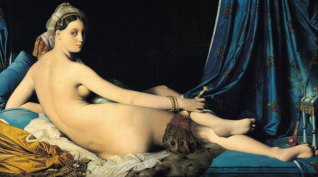 avrupa rüyası paris louvre müzesi büyük odalık