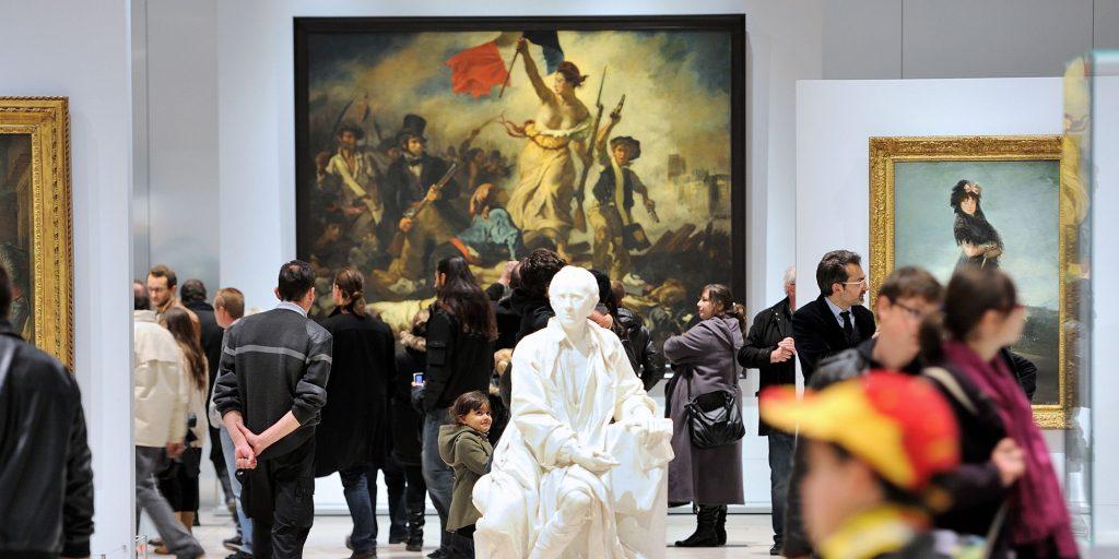 avrupa rüyası paris louvre müzesi La Liberté Guidant la Peuple