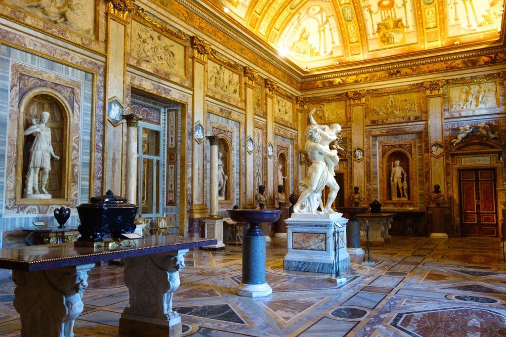 avrupa rüyası roma galleria borghese