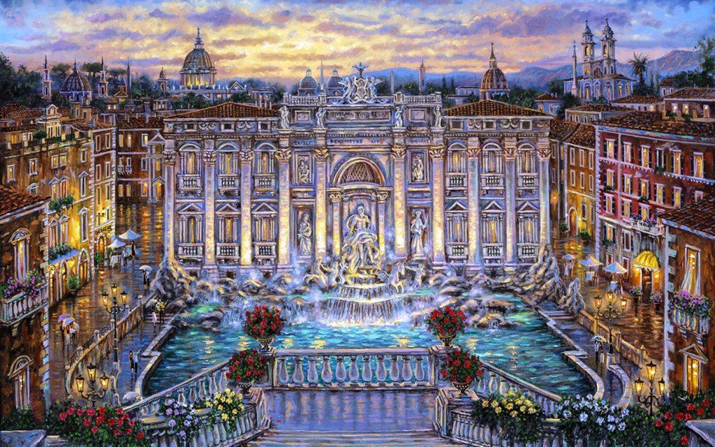 avrypa rüyası roma alışveriş rehberi
