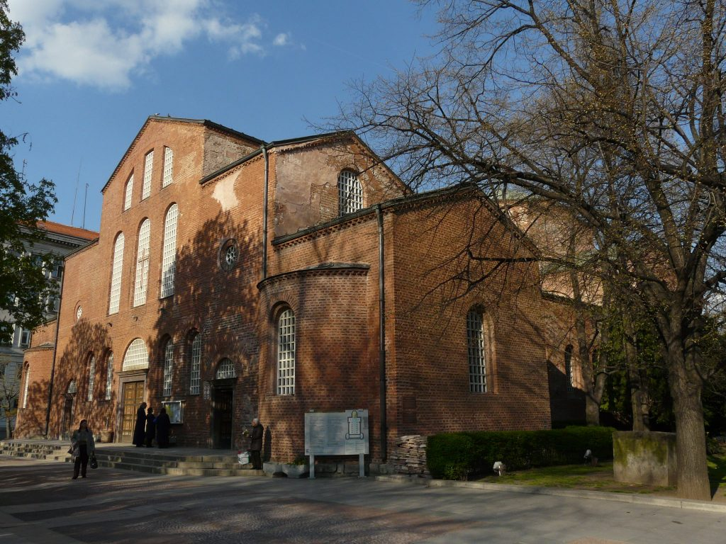 Avrupa Rüyası Bulgaristan Sofya St. Sofia Kilisesi