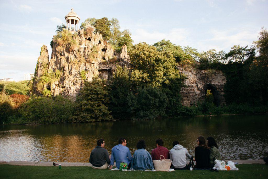 avrupa rüyası fransa paris Parc Des Buttes-Chaumont