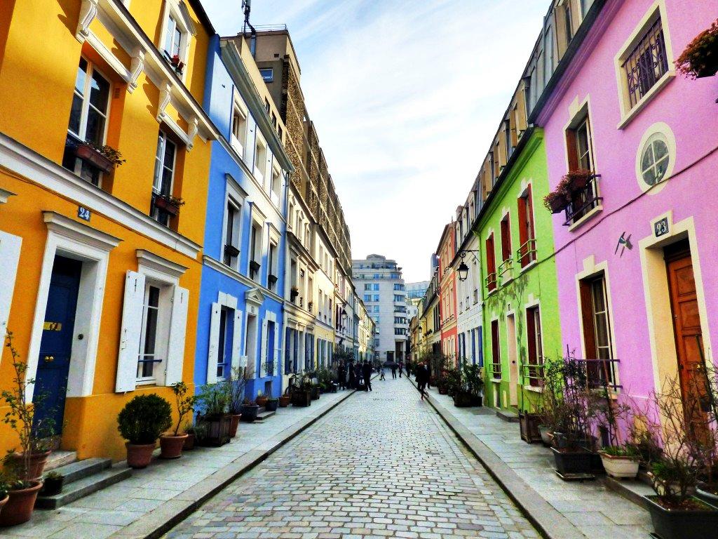 avrupa rüyası fransa paris Rue Cremieux, Bastille