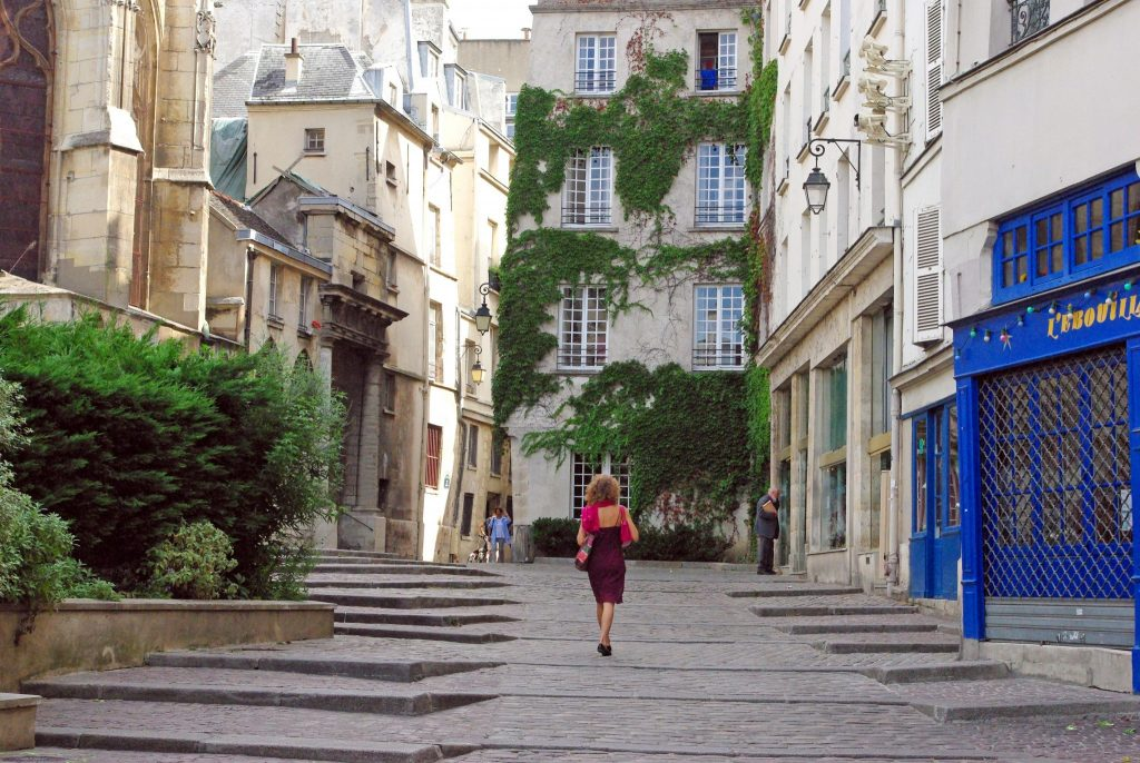 avrupa rüyası fransa paris Rue Des Barres, Marais