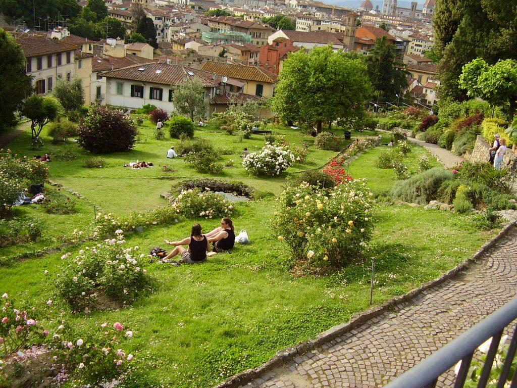 avrupa rüyası italya floransa giardino delle rose