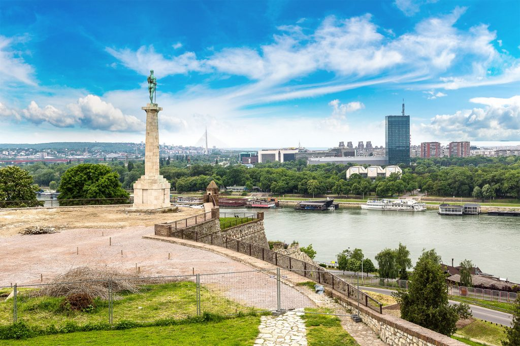 sırbistan tuna ve sava nehri belgrad