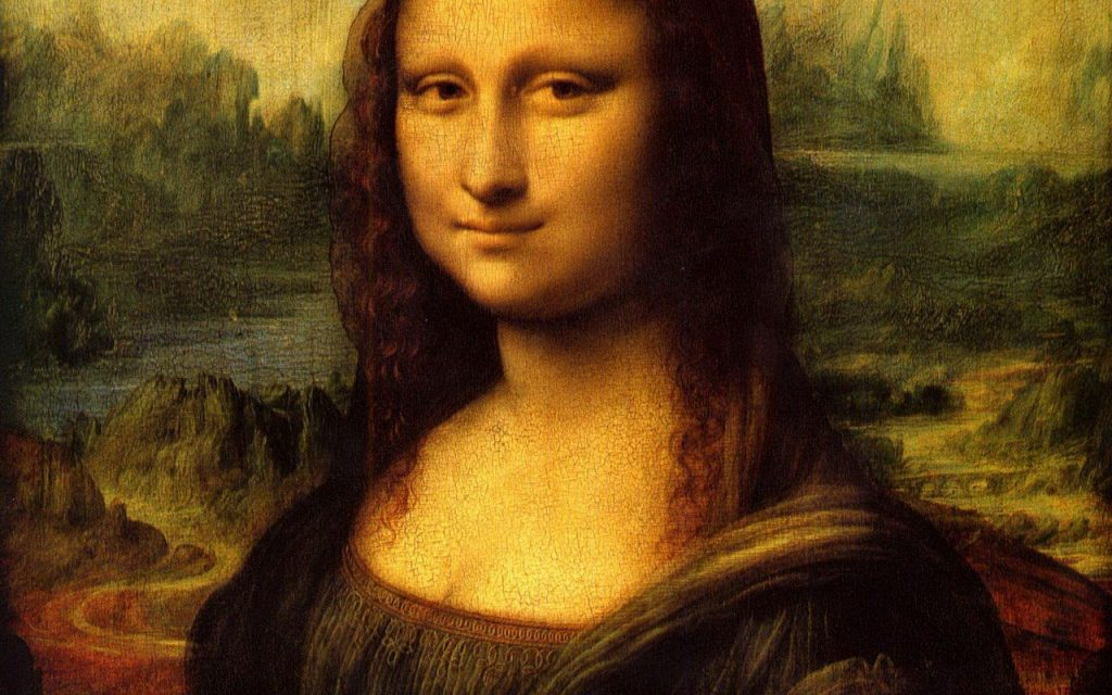 The Mona Lisa, Leonardo da Vinci