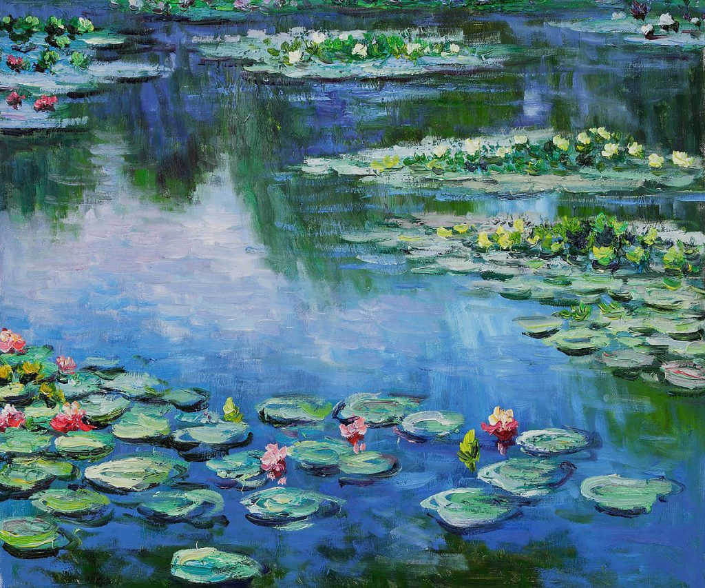 Water Lilies, Claude Monet