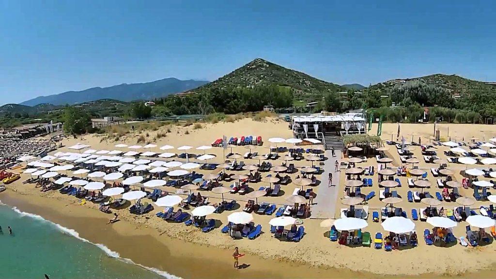 Yunanistan Kavala Ammolofoi Plajı