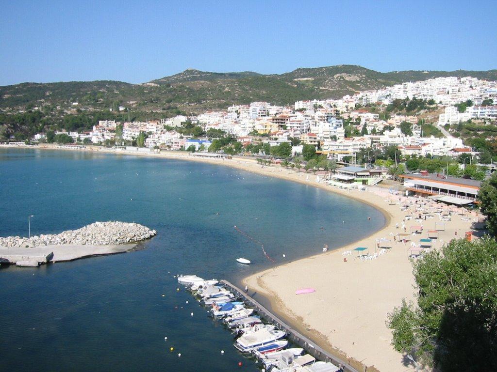Yunanistan Kavala Kalamitsa Plajı