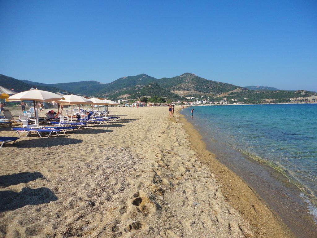 Yunanistan Kavala Nea Iraklitsa Plajı