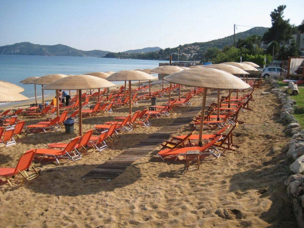Yunanistan Kavala Palio Plajı