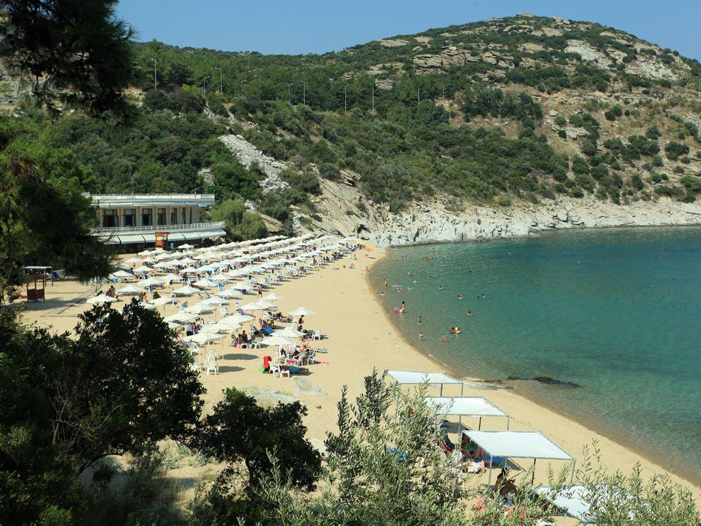 Yunanistan Kavala Tosca Plajı