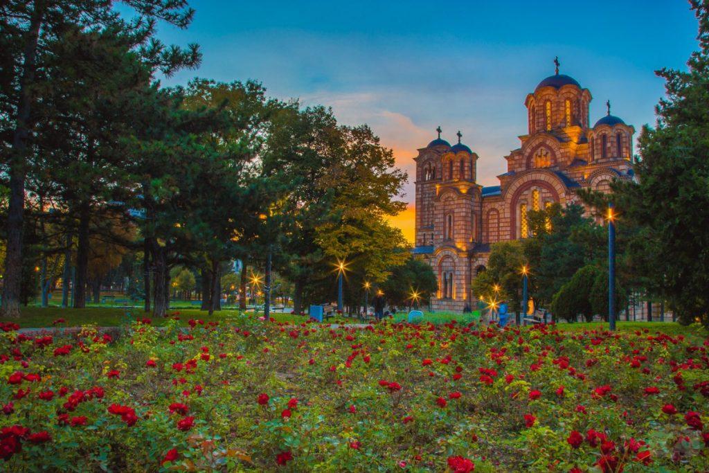 avrupa rüyası belgrad Tašmajdan kilisesi