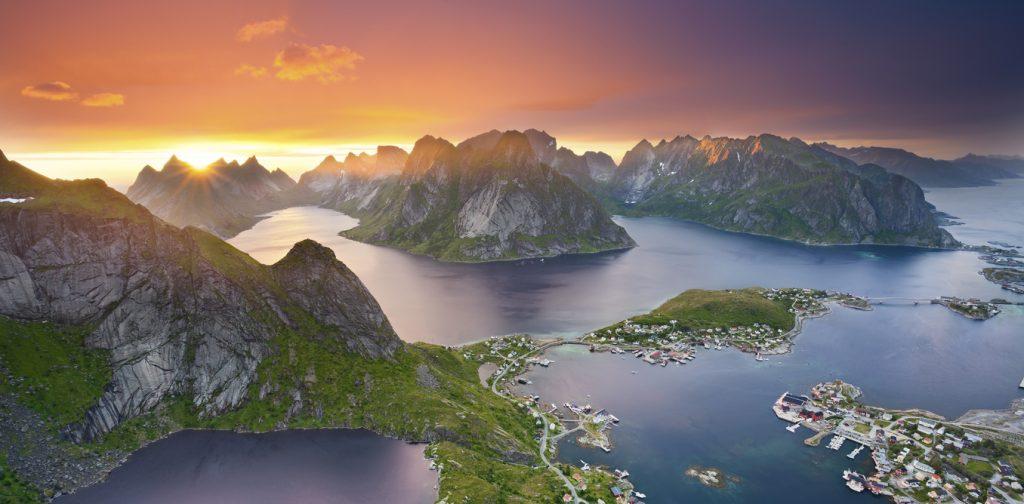 norveç lafoten adaları