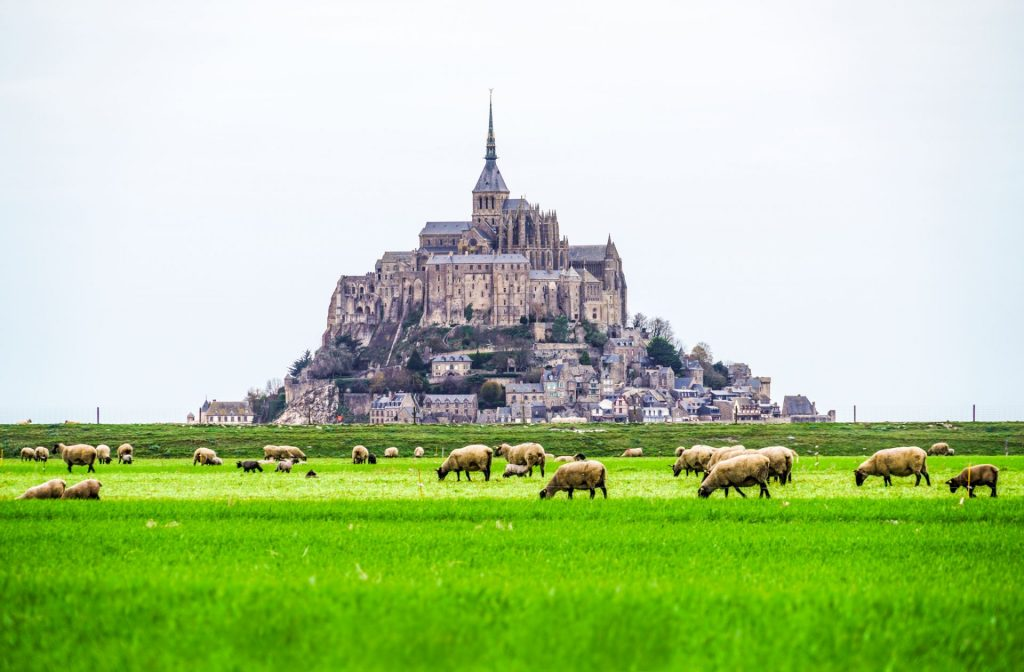 Fransa Mont Saint-Michel