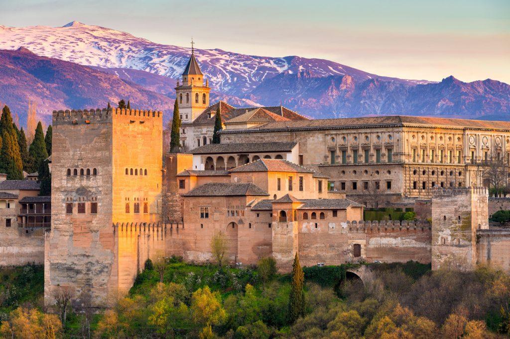 İspanya Elhamra Sarayı