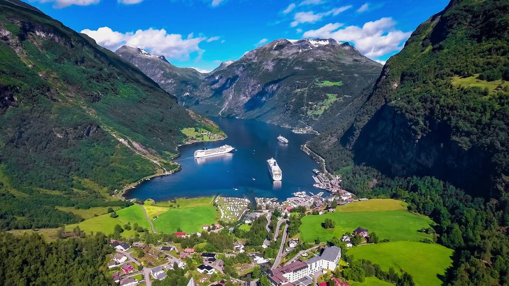 Norveç Geirangerfjord