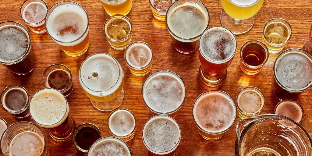 belçika bira bardağı