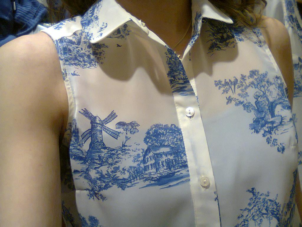 delft gömleği