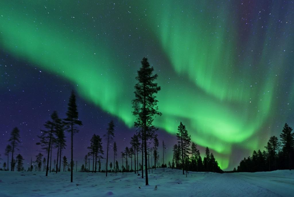 İsveç Kuzey Işıkları