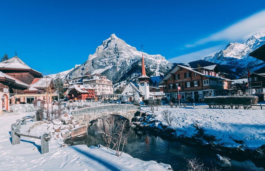 İsviçre Dağ Köyleri